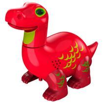 Digidinos Brotossauro Vermelho - DTC -