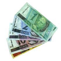 Dinheiro De Brinquedo Notas 1, 2, 5, 10, 20, 50 E 100 Reais - Mini Toys