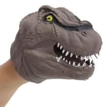 Dino Fantoche Marrom - DTC - Multikids