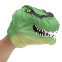 Dino Fantoche Verde - DTC - Multikids