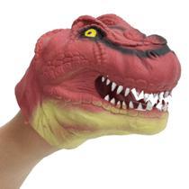 Dino Fantoche Vermelho - DTC - Multikids