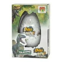 Dino Ovo Surpresa 11 cm Choca na água DMT5524 - DMToys - Dm Toys