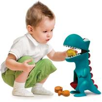 Dino Papa Tudo Boneco Dinossauro Didático Elka -