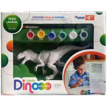 Dino para Colorir Tiranossauro - Homeplay -