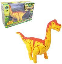Dinossauro Age Of Dinosaurs Com Som E Luz A Pilha Na Caixa - Oem