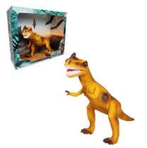 Dinossauro Brinquedo Infantil Com Som Articulado Bee Toys -