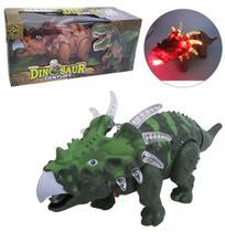 Dinossauro Century Com Som E Luz A Pilha Na Caixa - Oem