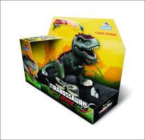 Dinossauro Com Luz E Som Tiranossauro Attack - Adijomar