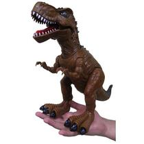 Dinossauro De Brinquedo Com Luzes E Som Tiranossauro Rex (Dmt4725) - Toys