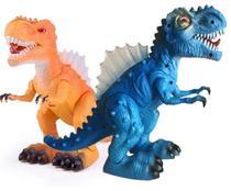 Dinossauro de Brinquedo Tiranossauro Rex Movimento luz e Som - 99 Toys