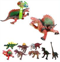 Dinossauro De Vinil Sortidos Mundo Dino A Bateria Wellkids - Wellmix