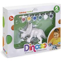 Dinossauro Dino para Colorir C/TINTA Lava - Homeplay