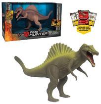 Dinossauro espinossauro dino hunter colors com card na caixa - Mieele