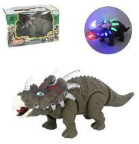 Dinossauro estiracossauro com som e luz a pilha wellkids - Wellmix