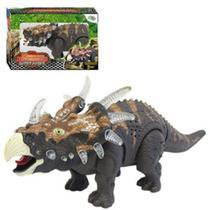 Dinossauro Estiracossauro com Som e Luz a Pilha - Wellmix