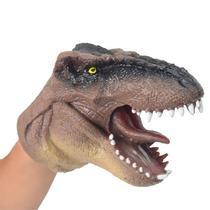 Dinossauro Fantoche - DTC - Cód 3731 - Marrom -