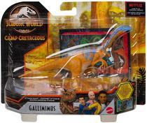 Dinossauro Gallimimus - Jurassic World Attack Pack - Mattel -