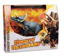 Dinossauro Mighty Megassauros Tricerátops Dtc 3395 -