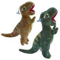 Dinossauro Pelúcia Tiranossauro Rex Fofossauro Infantil Bebê Decoração - Bbr Toys