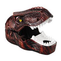 Dinossauro Rex Vermelho Dino Lança 2 Carros De Metal Dtc - Dtc (Brinquedos)