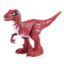 Dinossauro Robo Alive Rampaging Raptor Com Ovo de Slime - Candide