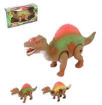 Dinossauro super poder colors com som e luz a pilha na caixa - Wellmix