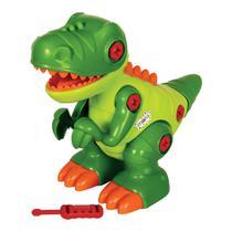 Dinossauro T-Rex Monta e Desmonta 30 Cm c/ Chave - 138410 - Maral