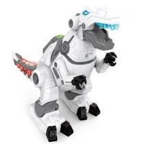 Dinossauro T-Rex Robô de Brinquedo Movimentos Luzes e Som - 99 Express -