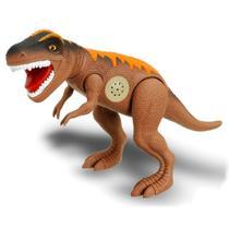 Dinossauro Tirano Rex 43cm Emite Som - Adijomar Brinquedos -