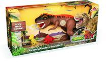 Dinossauro Tirano Rex Com Som Adijomar - Adijomar Brinquedos