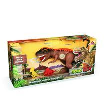 Dinossauro Tiranossauro Rex 43cm Jurassic C/ Som - Adijomar -