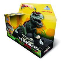 Dinossauro Tiranossauro Rex Attack Com Luz e Som - Adijomar - Adijomar Brinquedos