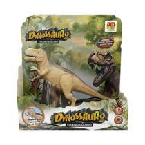 Dinossauro Tiranossauro Rex com Luz e Som 3+ 5933 DMToys - Dm Toys