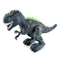 Dinossauro Tiranossauro Rex Com Movimento Som e Luz - 99 Toys -