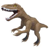Dinossauro Tiranossauro Rex Grande 60 Cm C/ Som Menino - Adijomar