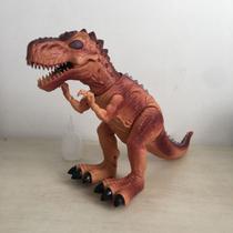 dinossauro tiranossauro rex que solta fumaça - Toys