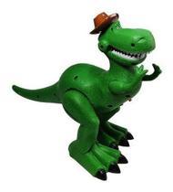 Dinossauro Tiranossauro Rex Som Anda Led A Pilha Toys - 696 Toys
