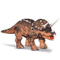 Dinossauro Triceratops Articulado Com Som - Bee Toys -