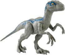Dinossauro Velociraptor Blue - Jurassic World Rivals Mattel -