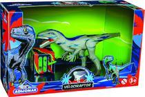Dinossauro Velociraptor Emite Som - Adijomar - Adijomar Brinquedos