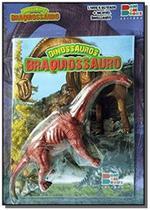 Dinossauros - braquiossauro ( inclui dinossauro articulado ) - Cedic -