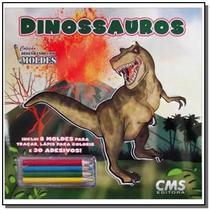 Dinossauros - colecao desenho com moldes - Cms -