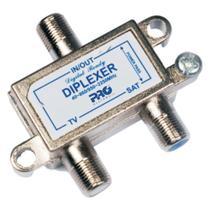 Diplexer Proeletronic PQDI-6500 VHF e Uhf+satelite com PAS.DC -
