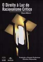 Direito a luz do racionalismo critico, o - Unb -