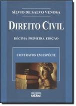 DIREITO CIVIL III - CONTRATOS EM ESPECIE - 11ª EDICAO - Atlas exatas, humanas, soc (grupo gen)