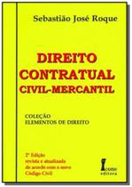 Direito contratual civil - mercantil - Icone