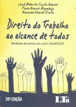 Direito do Trabalho ao Alcance de Todos - 20Ed/18 - Ltr Editora