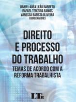 Direito e processo do trabalho - Ltr -