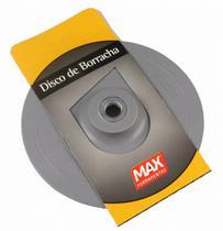 Disco de borracha rígido 7 pol para Esmerilhadeiras Cinza Max -
