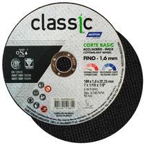Disco de Corte 7 POL x 1,6 MM Aço Inox Furo 7/8 POL Classic Corte Basic NORTON -
